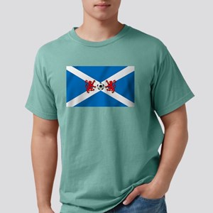 Scottish Football Flag Mens Comfort Colors Shirt
