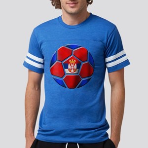 Serbia Soccer Football Mens Football Shirt