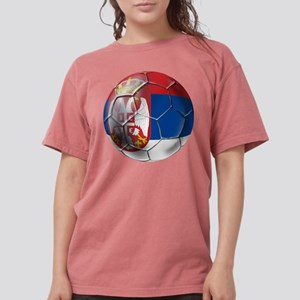 Serbian Football Womens Comfort Colors Shirt