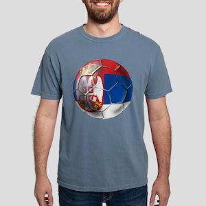 Serbian Football Mens Comfort Colors Shirt