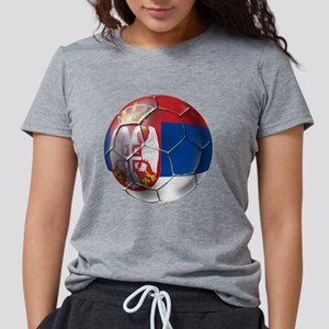 Serbian Football Womens Tri-blend T-Shirt