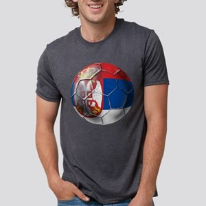 Serbian Football Mens Tri-blend T-Shirt