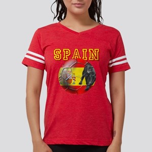 Spanish Football Womens Football Shirt