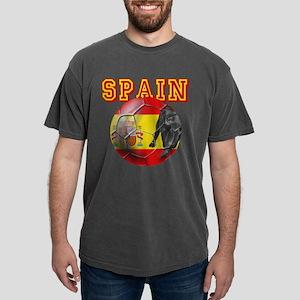 Spanish Football Mens Comfort Colors Shirt