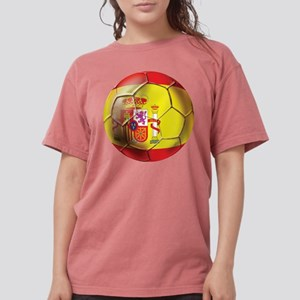 Spanish Futbol Womens Comfort Colors Shirt