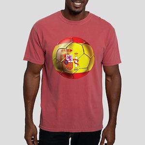 Spanish Futbol Mens Comfort Colors Shirt