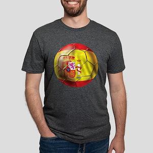 Spanish Futbol Mens Tri-blend T-Shirt
