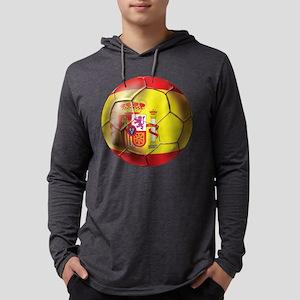 Spanish Futbol Mens Hooded Shirt