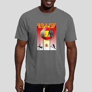 Spanish Football Soccer Mens Comfort Colors Shirt