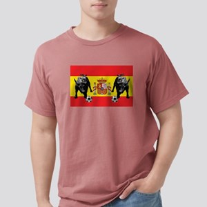 Spanish Football Bull F Mens Comfort Colors® Shirt