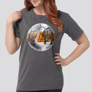 Spanish Soccer Ball Womens Comfort Colors Shirt