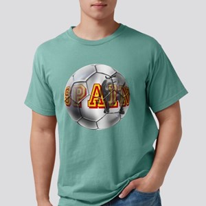 Spanish Soccer Ball Mens Comfort Colors Shirt