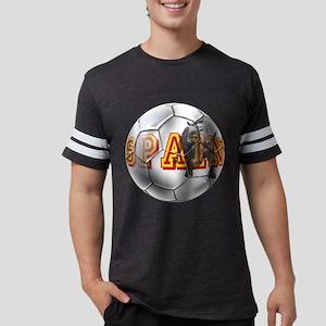 Spanish Soccer Ball Mens Football Shirt