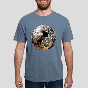 Spanish Culture Football Mens Comfort Colors Shirt
