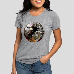 Spanish Culture Football Womens Tri-blend T-Shirt