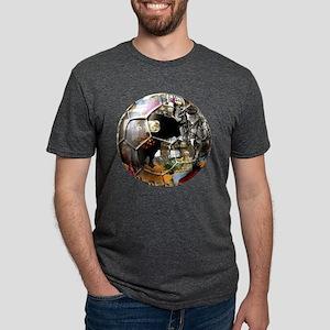 Spanish Culture Football Mens Tri-blend T-Shirt