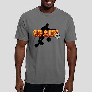 Spanish Football Player Mens Comfort Colors Shirt