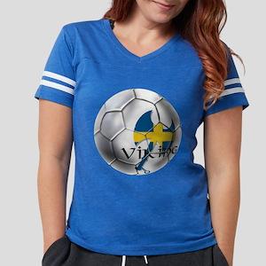 Sweden Soccer Ball Womens Football Shirt