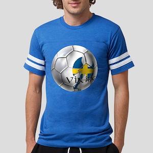 Sweden Soccer Ball Mens Football Shirt