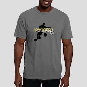 Sweden Football Mens Comfort Colors Shirt