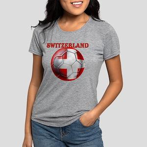 Switzerland Soccer Womens Tri-blend T-Shirt