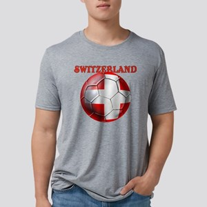 Switzerland Soccer Mens Tri-blend T-Shirt