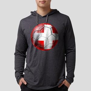 Switzerland Football Mens Hooded Shirt