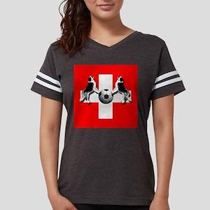 Swiss Football Flag Womens Football Shirt