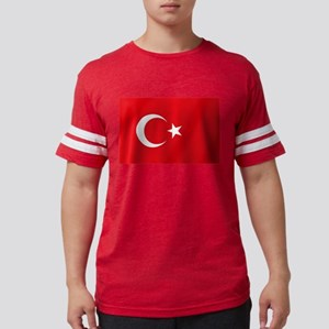 Flag of Turkey Mens Football Shirt