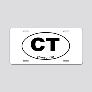 Connecticut State Aluminum License Plate