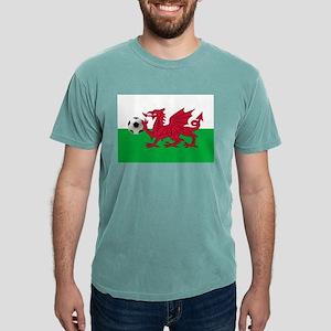 Wales Football Mens Comfort Colors Shirt