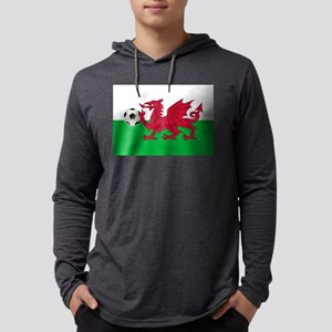 Wales Football Mens Hooded Shirt