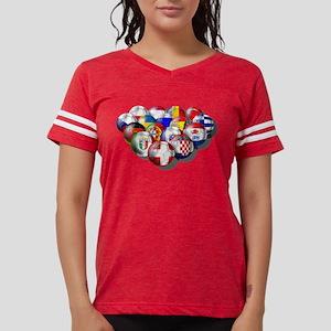Europe Soccer Womens Football Shirt