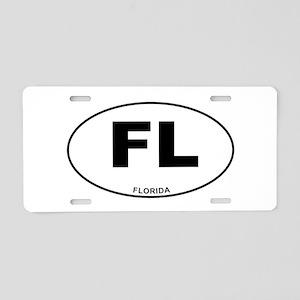 Florida State Aluminum License Plate