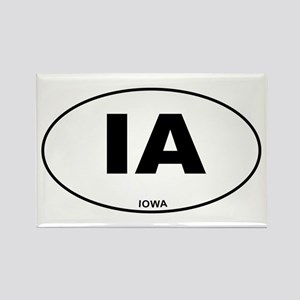 Iowa State Rectangle Magnet