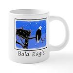 Winter Bald Eagle 20 oz Ceramic Mega Mug