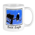 Winter Bald Eagle 11 oz Ceramic Mug