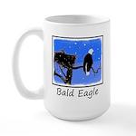 Winter Bald Eagle 15 oz Ceramic Large Mug