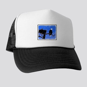 Winter Bald Eagle Trucker Hat