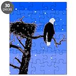 Winter Bald Eagle Puzzle