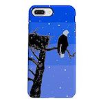 Winter Bald Eagle iPhone 7 Plus Tough Case
