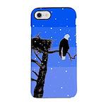 Winter Bald Eagle iPhone 7 Tough Case