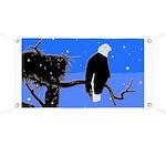 Winter Bald Eagle Banner