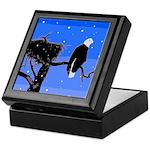 Winter Bald Eagle Keepsake Box
