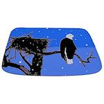 Winter Bald Eagle Bathmat
