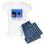 Winter Bald Eagle Women's Light Pajamas