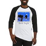 Winter Bald Eagle Baseball Tee