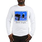 Winter Bald Eagle Long Sleeve T-Shirt