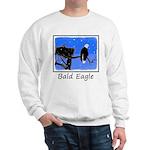 Winter Bald Eagle Sweatshirt