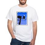 Winter Bald Eagle White T-Shirt